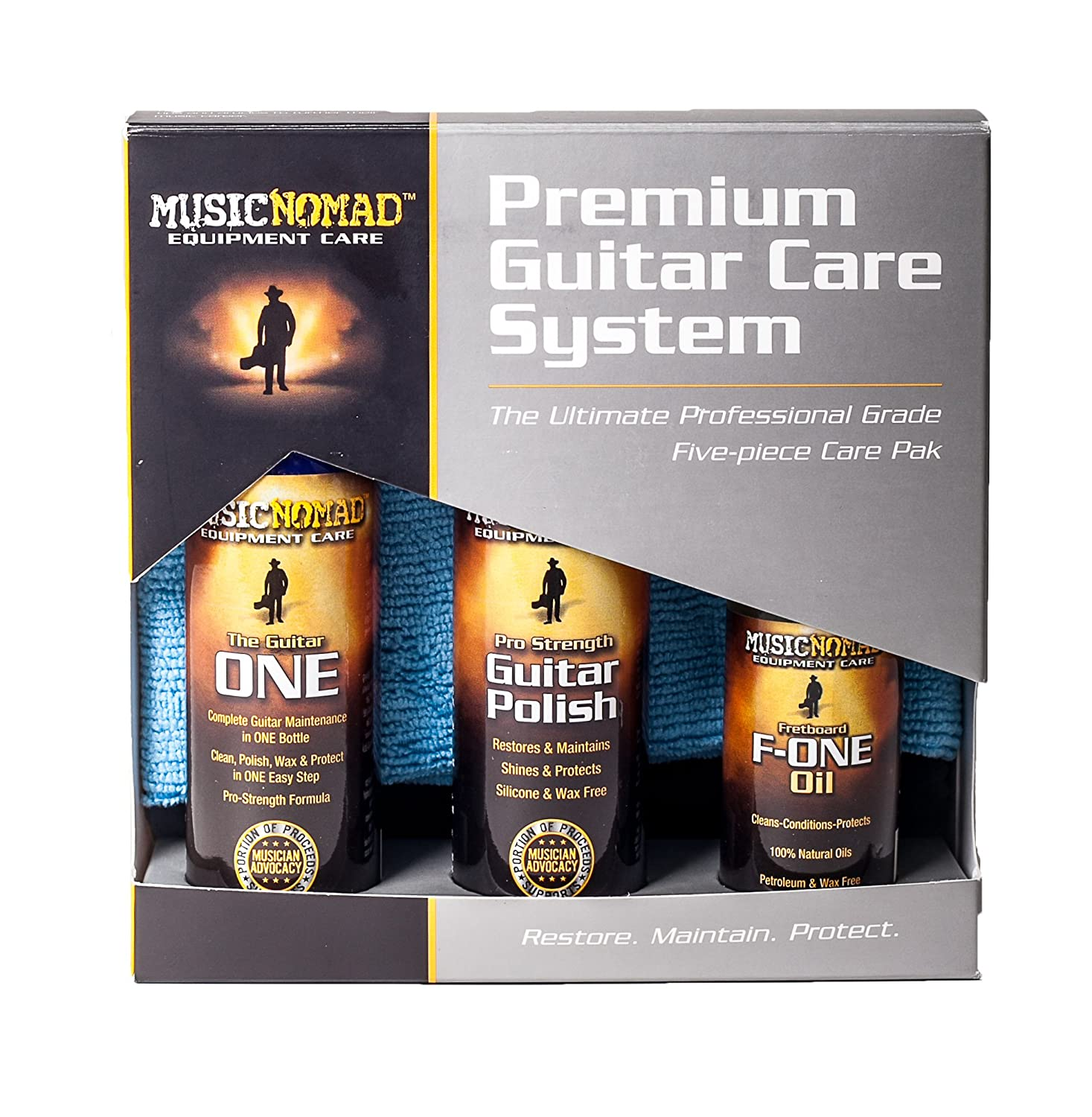 Music Nomad MN108 Premium Guitar Care