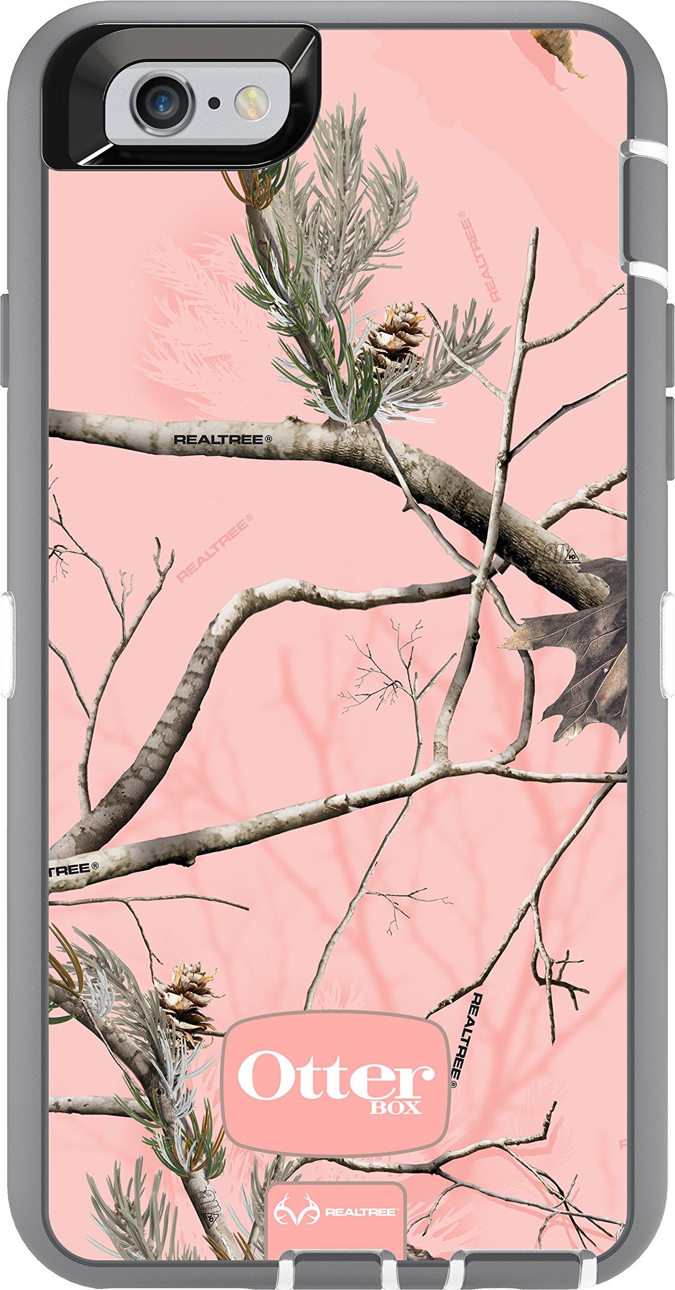 OtterBox iPhone 6 ONLY Case - Defender Series, Retail Packaging - Ap Pink (White/Gunmetal Grey Ap Pink) (4.7 inch)