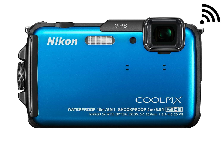 Amazon.com : Nikon COOLPIX AW110 Wi-Fi and Waterproof Digital ...