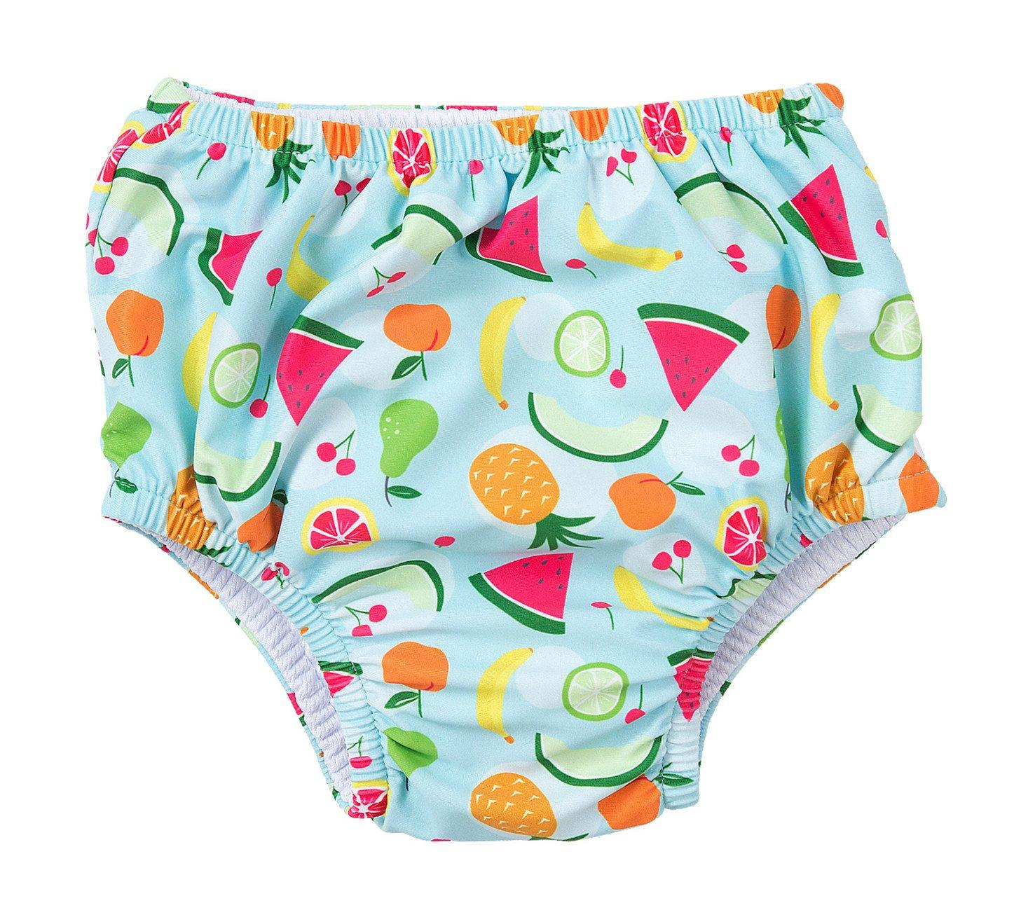 Charmo Mädchen Schwimmwindel Uv-schutz Windelhose Wassermelone Blau 0-6 Monate
