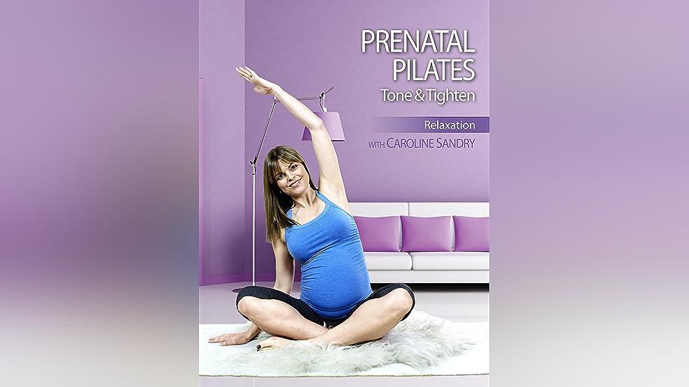 Caroline Sandry: Prenatal Pilates - Tone and Tighten: Relaxation Session