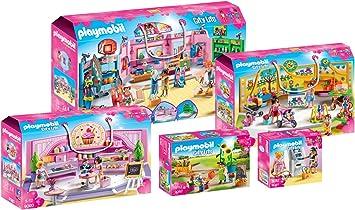 PLAYMOBIL Café Cupcake Shop Kinder Spielzeug Geschäft für