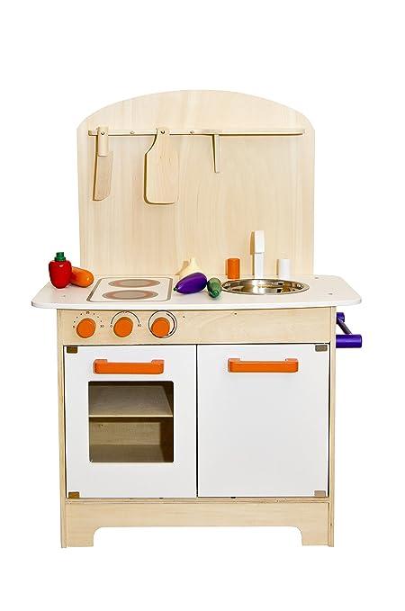 99 opinioni per Glow2B Spielwaren 1000016- Cucina in legno