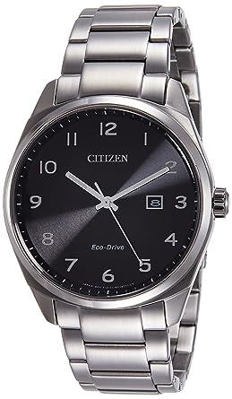 Citizen Hombre Reloj de Pulsera analógico Cuarzo Acero Inoxidable bm7320 - 87E: Amazon.es: Relojes