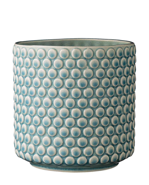 Bloomingville pot de fleurs en céramique 12 cm Gris