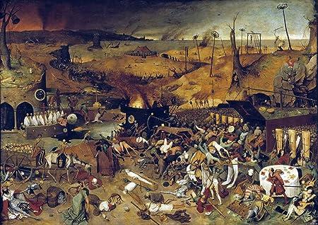 poster. Pieter Bruegel the Elder Art print Dutch Proverbs