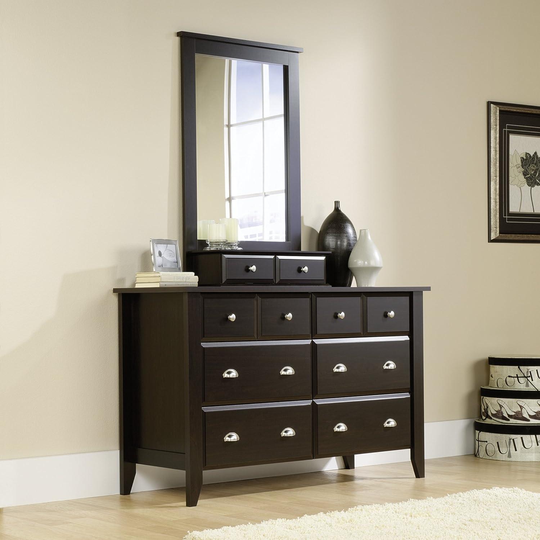 Amazon.com: Shoal Creek Dresser U0026 Mirror Set In Jamocha Wood Finish:  Kitchen U0026 Dining