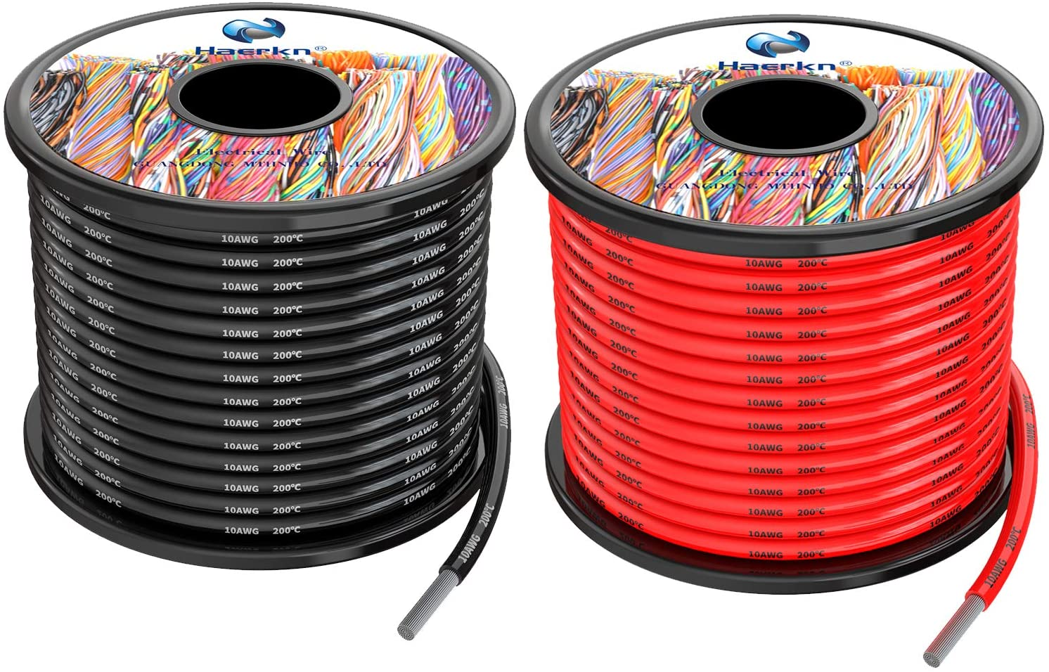 2 Meter Soft Silicone Cable Sheathed Wire 2 core 3 core 4 core 0.3 0.5 0.7 1.0 1