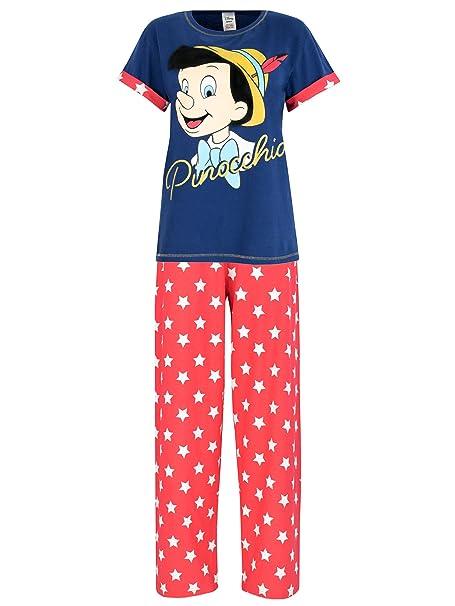 Disney Pinocho - Pijama para mujer - Pinocchio - XX Large