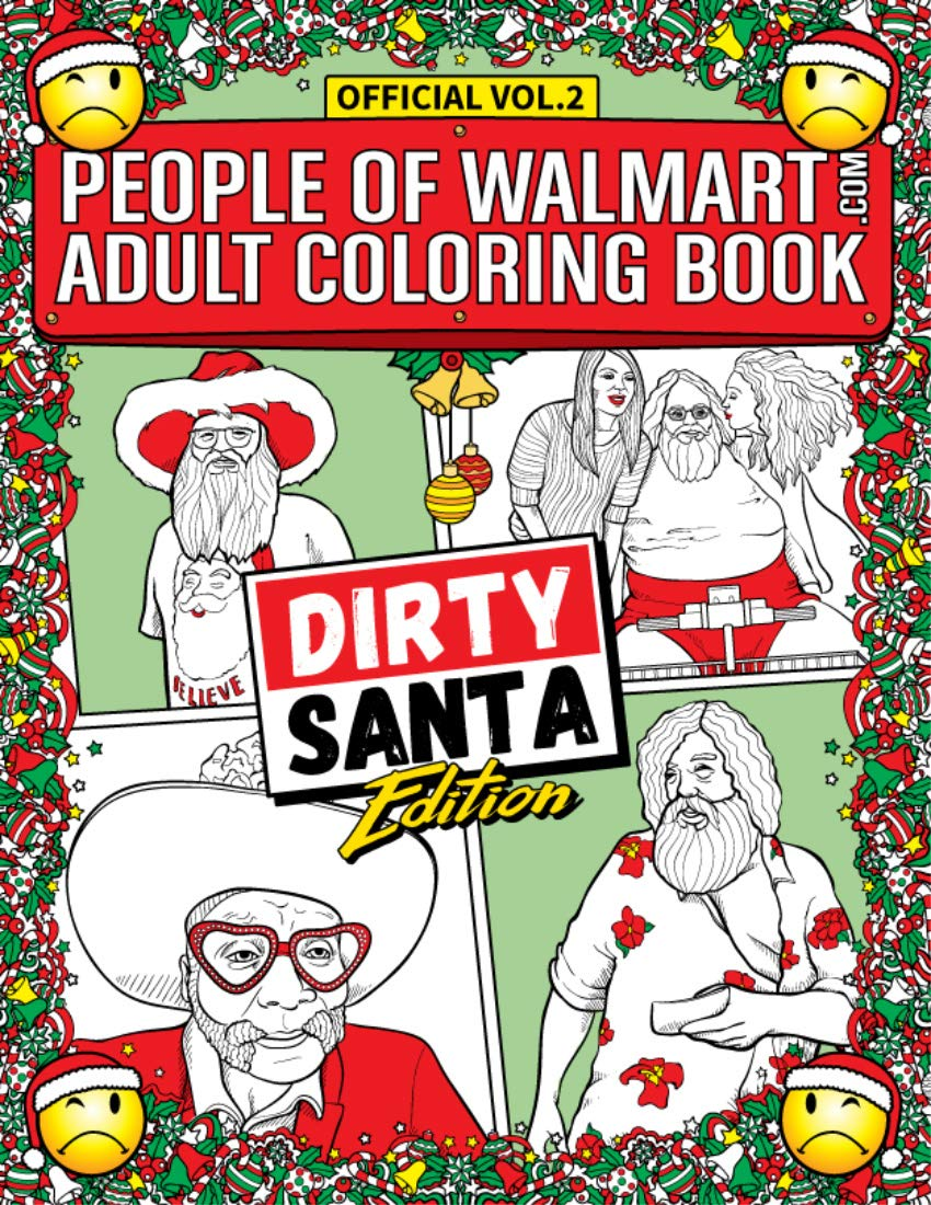 Amazon.com: People of Walmart Adult Coloring Book Dirty ...