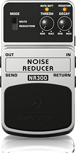 Behringer Noise Reducer Nr300 Ulitmate Noise Reduction Instrument Effects Pedal