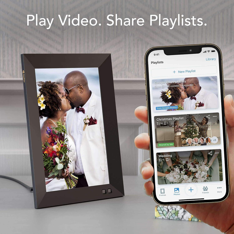 Les nouveaux cadres photo numériques de NIXPLAY