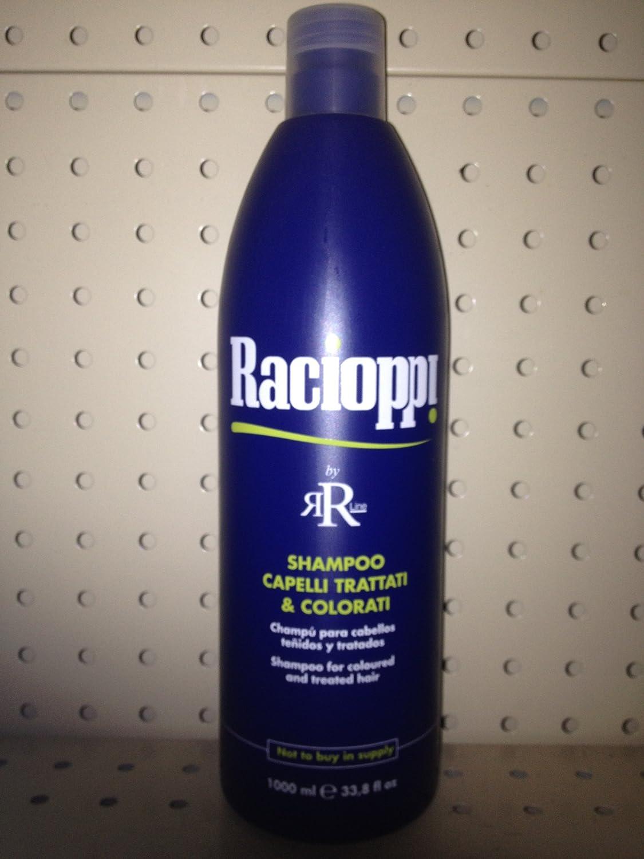 nuovo stile e lusso marchio famoso più popolare Amazon.com : Racioppi Shampoo Capelli Trattati & Colorati ...