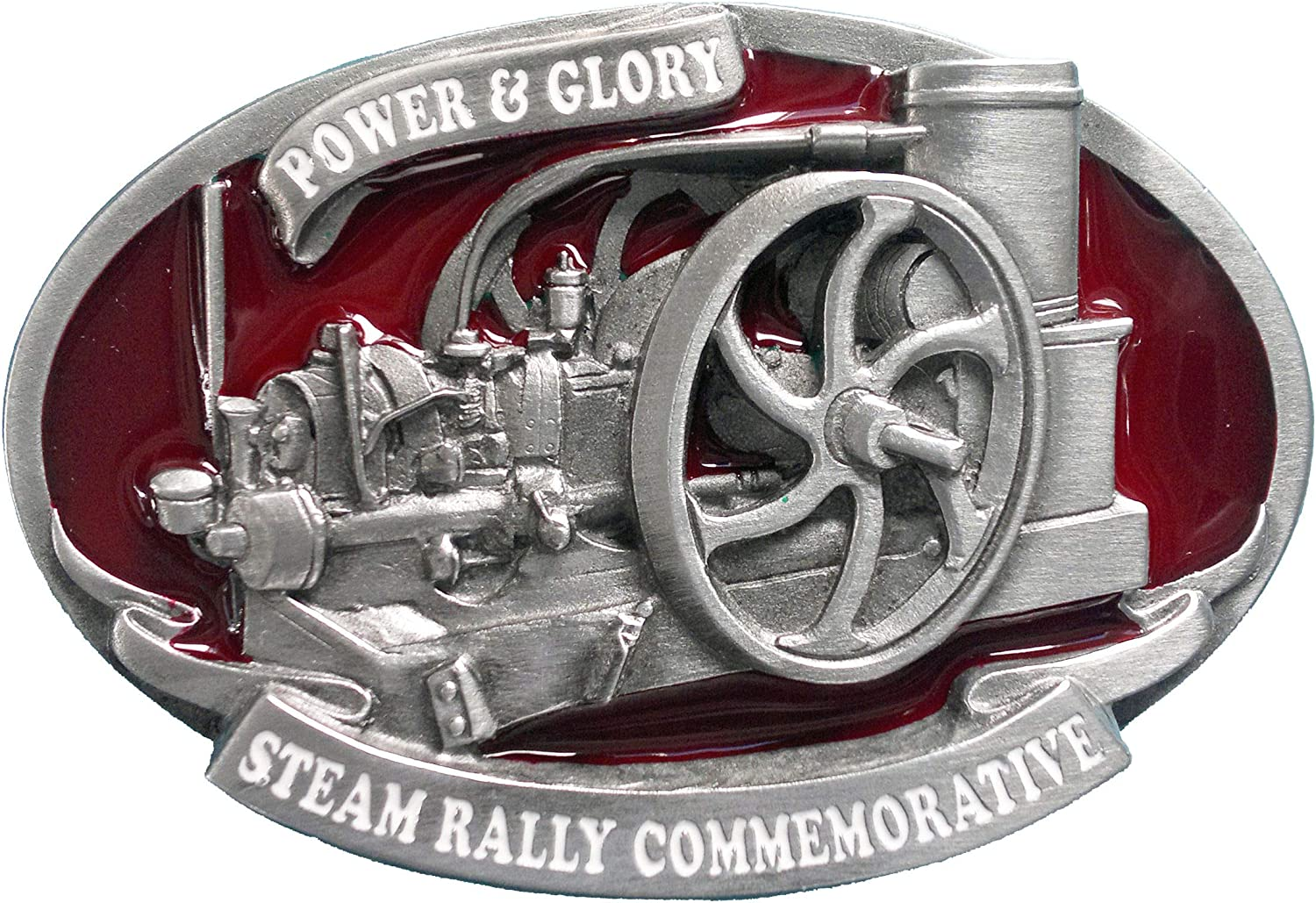 Tanside Limited Stationery Engine G/ürtelschnalle Steam Rally