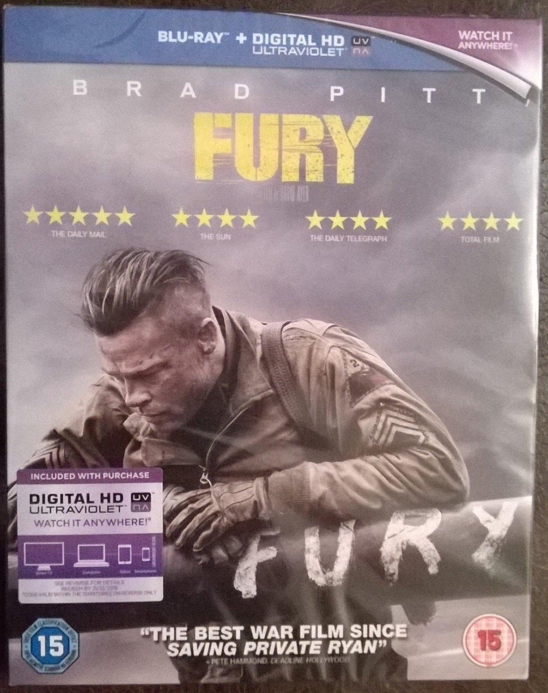 Fury [Reino Unido] [Blu-ray]: Amazon.es: Brad Pitt, Shia ...