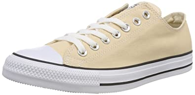 Unisex Adults CTAS Ox Trainers, Raw Ginger, 6 UK Converse
