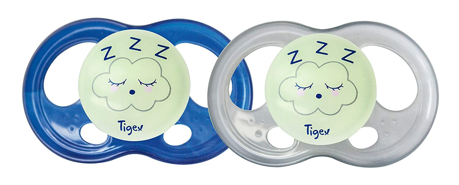 Tigex Sucettes silicone Night Taille 2