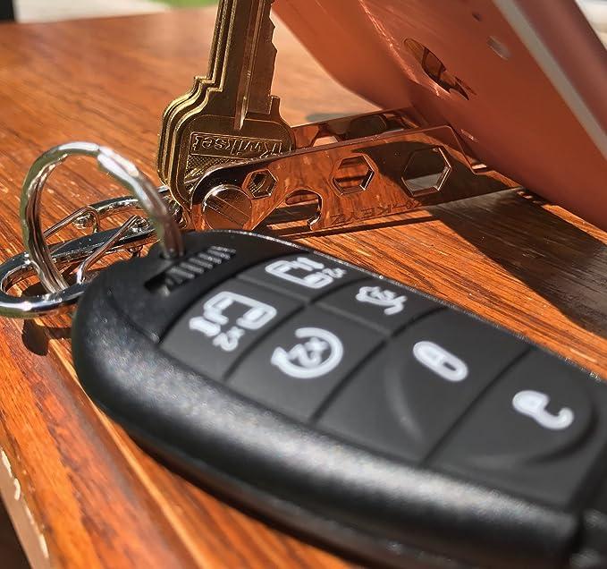 Amazon.com: EZ-KEYZ organizador de llaves compacto, con ...