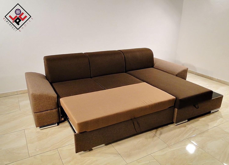 Martin esquina sofá cama * NUEVO * Diseño moderno * elección ...