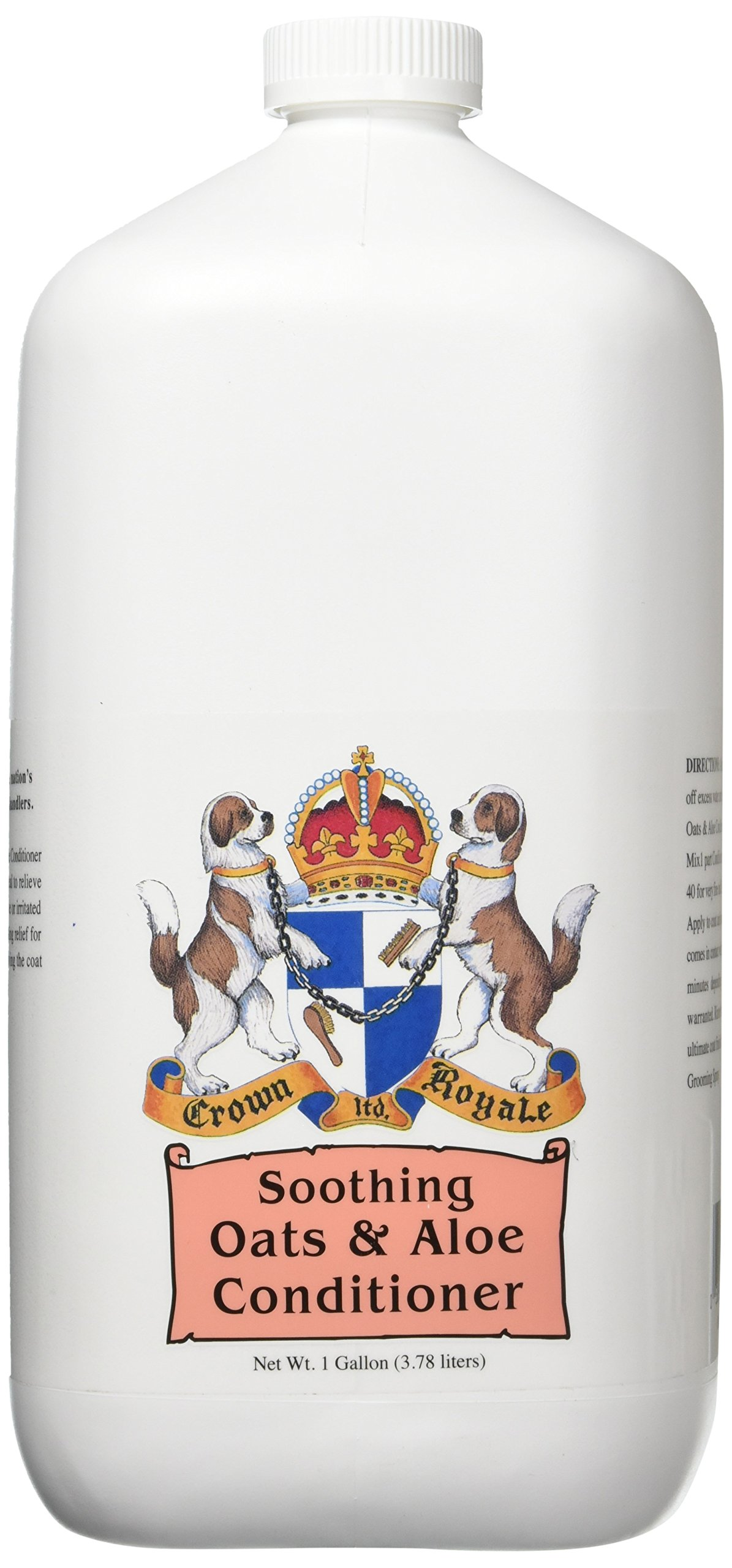 Crown Royale 0006011 Soothing Oats and Aloe Pet Conditioner, 1 Gallon by Crown Royale