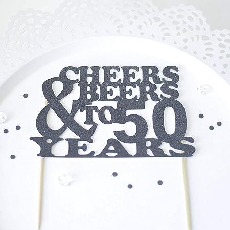 Decoración para tarta de cumpleaños con temática de cerveza ...