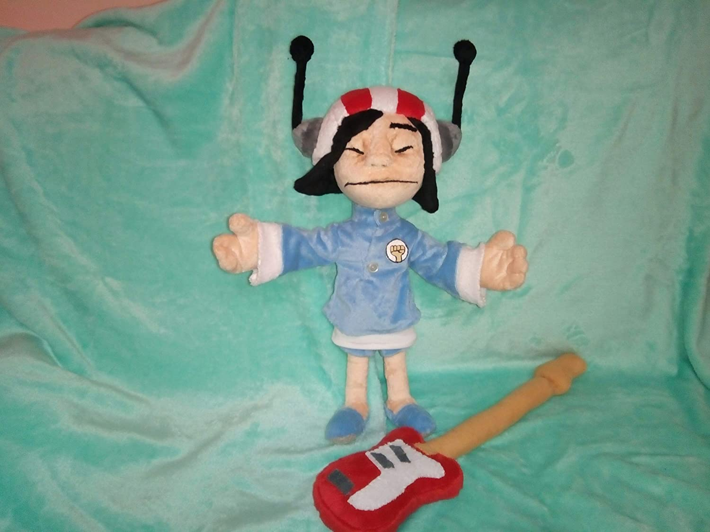 Inspired by Noodle from the Gorillaz plush fun art custom plush 30 cm minky