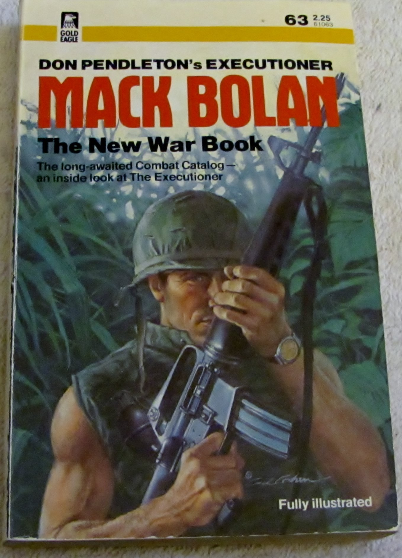 Mack Bolan: New War Book (Executioner, No. 63): Don Pendleton:  9780373610631: Amazon.com: Books