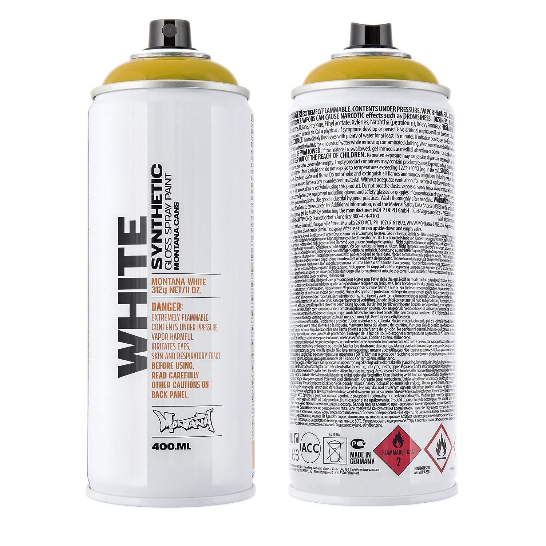 MontanaWHITE 400ml Ochre Montana Cans MXW-1050