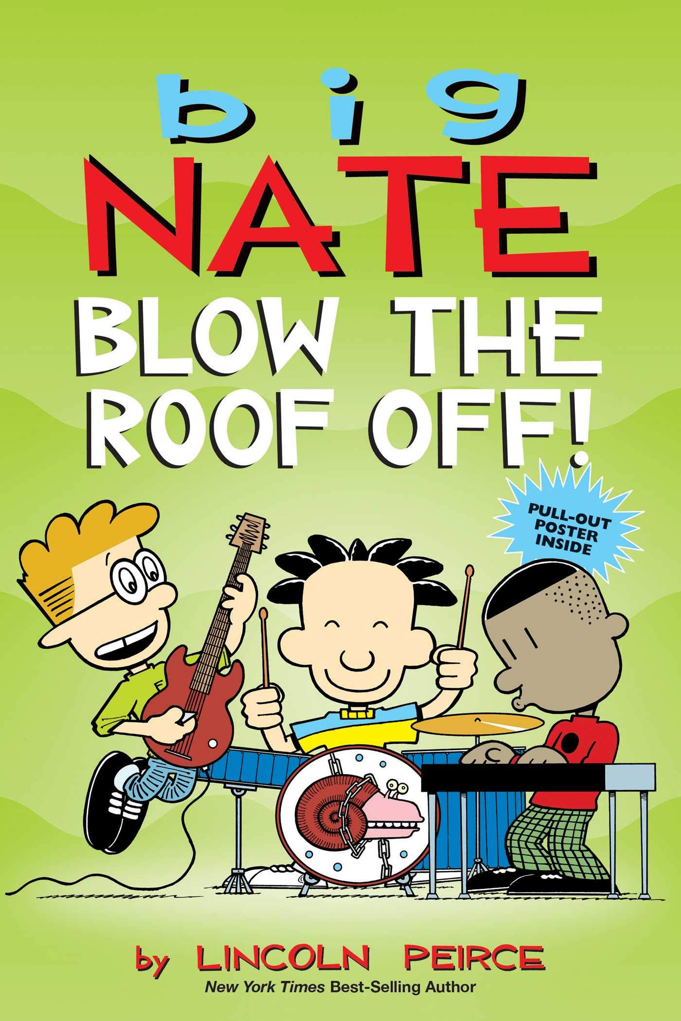 New Books 2020.Amazon Com Big Nate Blow The Roof Off Volume 22