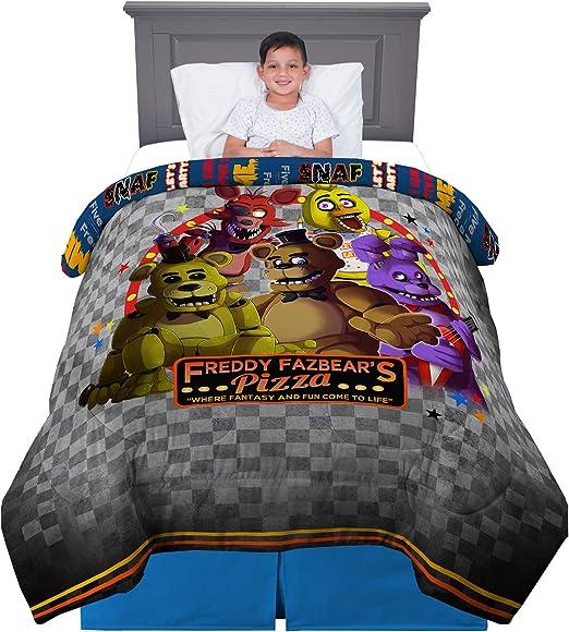 Amazon.com: Kitchen Designers Franco Kids Bedding Comforter, Twin
