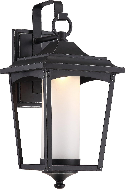 Nuvo照明OneライトアウトドアランタンNuvo 62 / 822 LED壁 B01KQAWJ9S