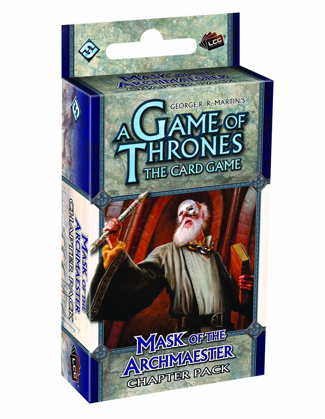 Mask of the Archmaester Chapter Pack Fantasy Flight Publishing GOT72 Card Games A Game of Thrones Card Games General Games//Puzzles The Card Game General Games /& Activities