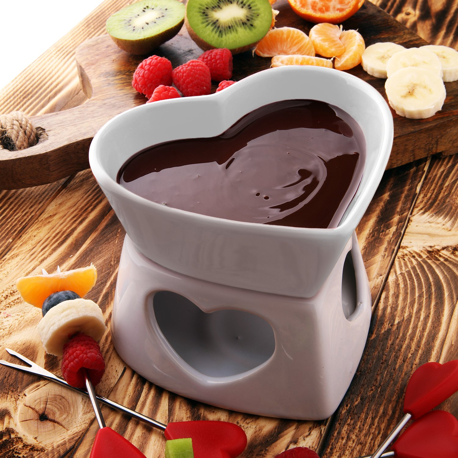 How to melt the chocolate Cooking glaze and fondue