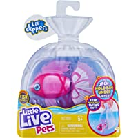 Little Live Pets Lil' Dippers Fish - Magical Water Activated Unboxing and Interactive Feeding Experience - Bellariva