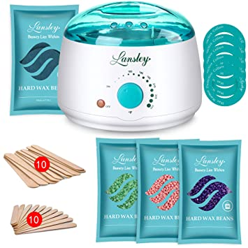 Amazon Com Lansley Home Waxing Kit For Women Men With