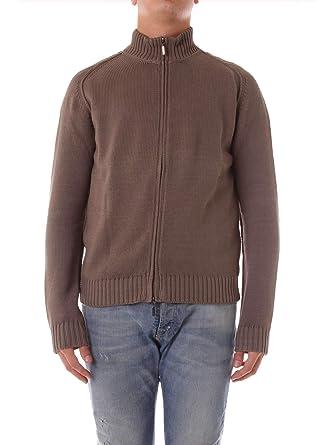 Cruciani Homme CU131535019 Marron Laine Sweatshirt  Amazon.fr ... 807dcd26a59e