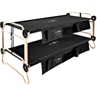 Disc-O-Bed Large with Organizers (Black)