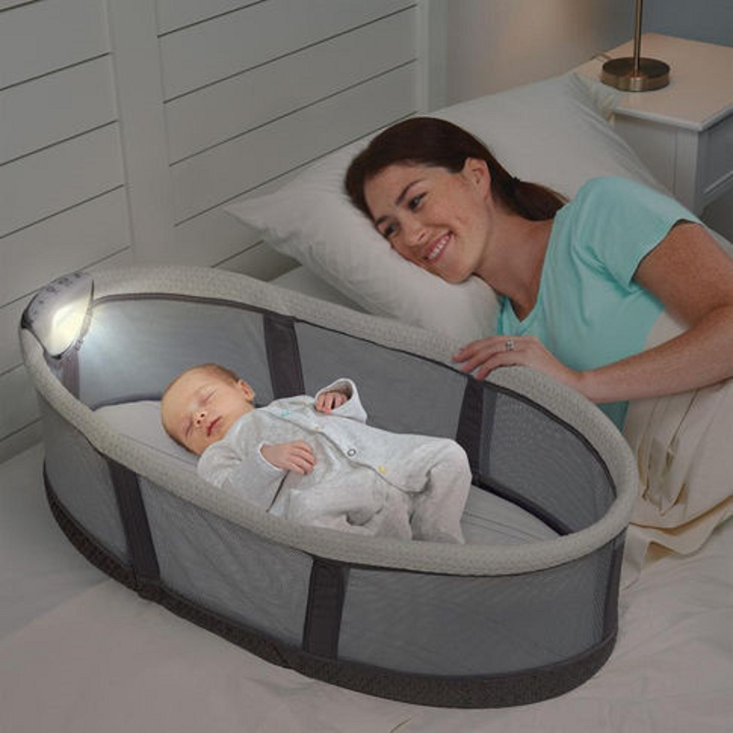 Serta iComfort Infant Sleeper, Gray