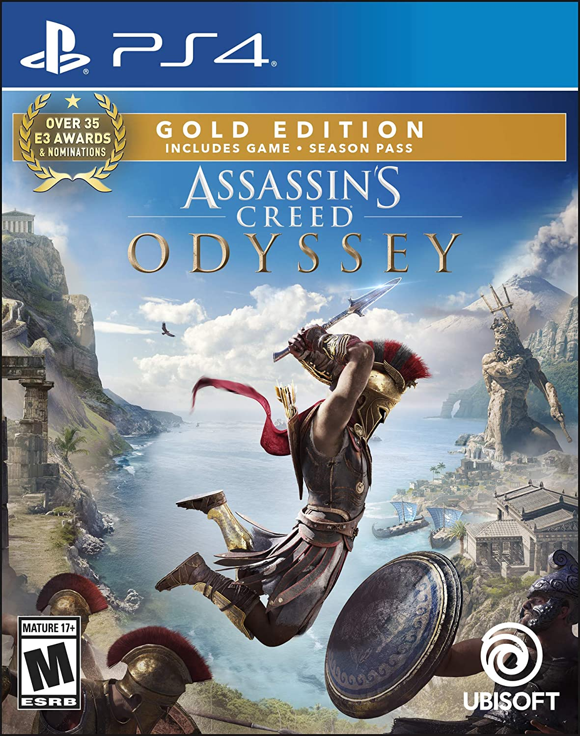 assassins creed odyssey gold edition ps4 price