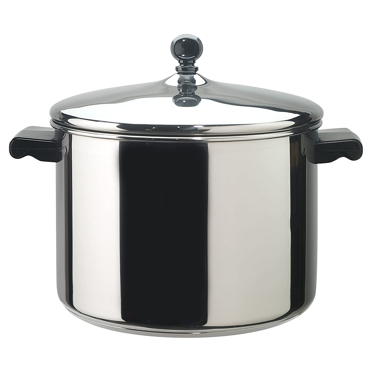 Farberware Classic Series Stainless Steel 8-Quart Covered Saucepot