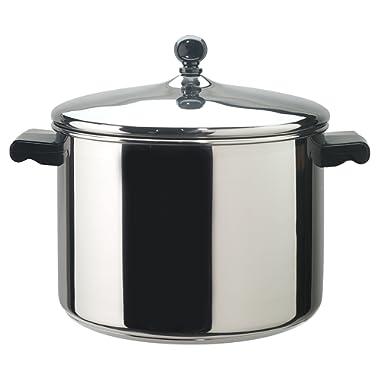 Farberware Classic Series Stainless Steel 8-Quart Covered Saucepot