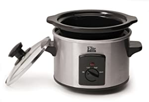 Elite Gourmet 1.5-qt. Mini Slow Cooker