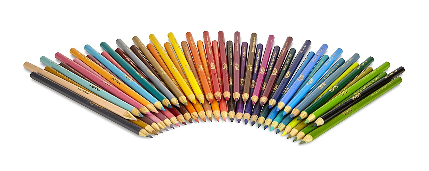Crayola Colored Pencils, 50 Count