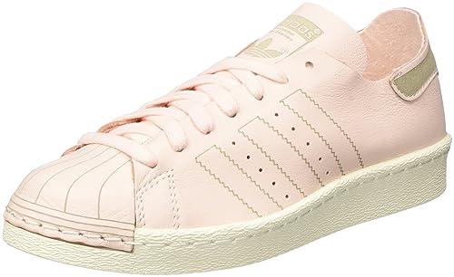 adidas Superstar 80S Decon W BZ0500, Zapatillas de Deporte para Mujer, Rosa Roshel/Casbla, 40 1/3 EU: Amazon.es: Zapatos y complementos