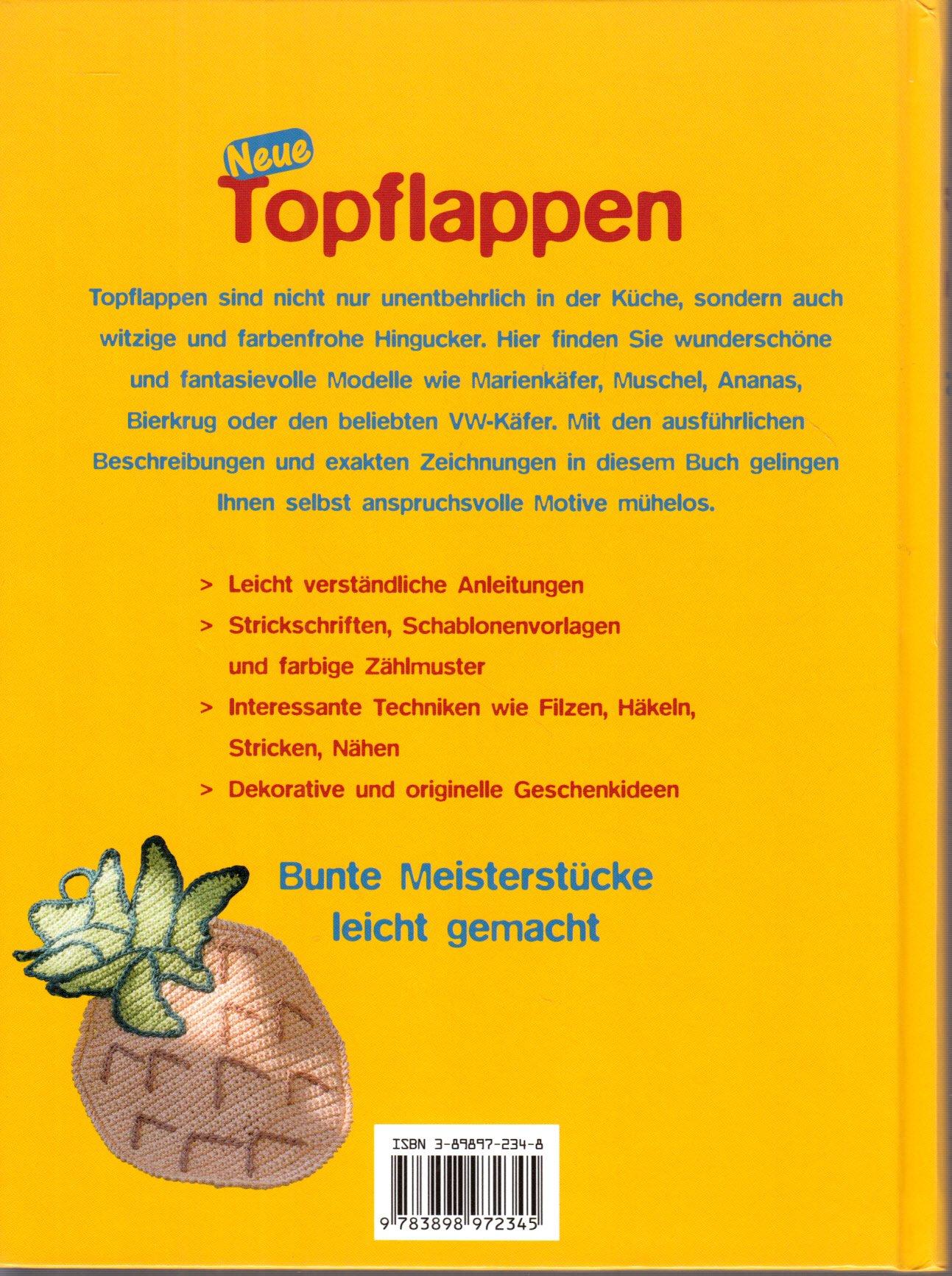 Amazonfr Neue Topflappen Livre En Allemand Heidi Grund Thorpe