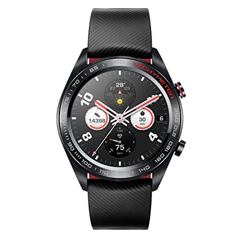 214efa86ba Amazon.in  Buy Honor Watch Magic (Lava Black) Online at Low Prices in India