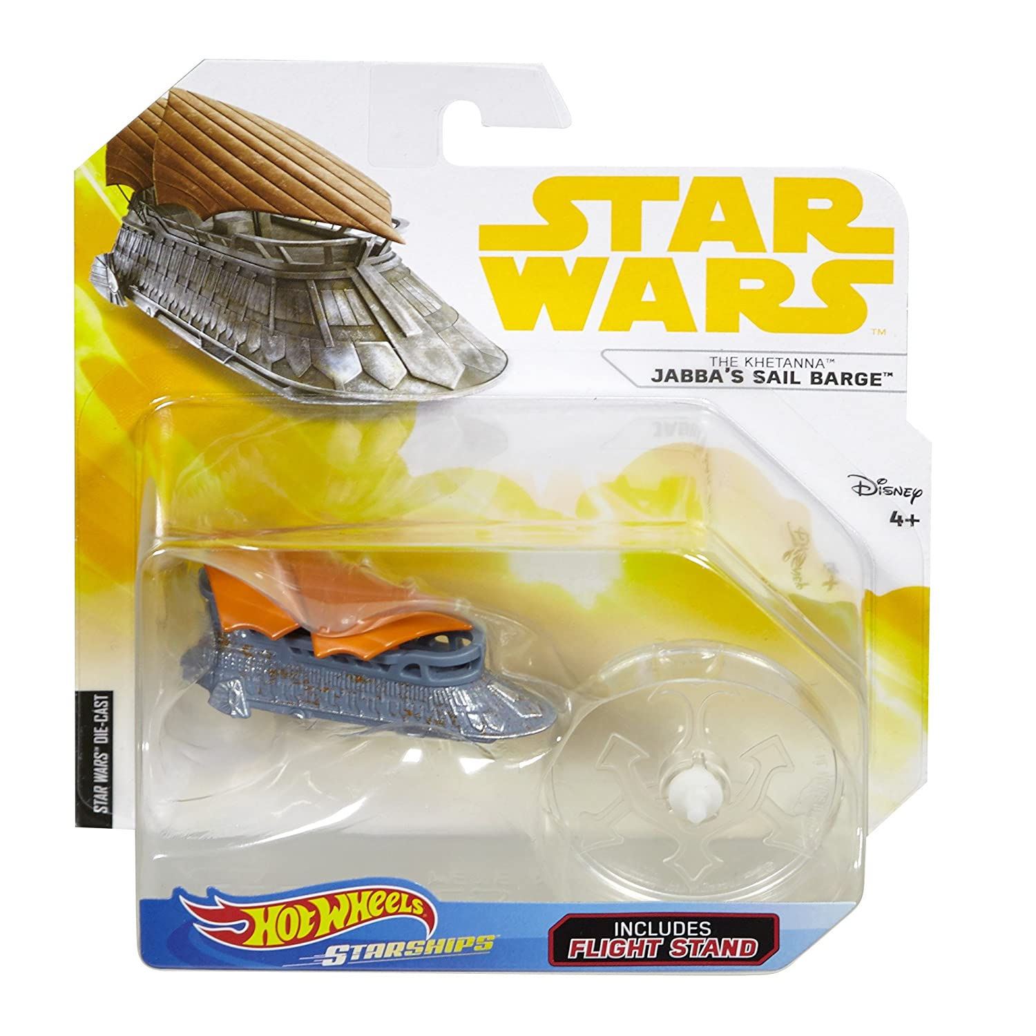 Hot Wheels Star Wars Jabba's Sail Barge Fisher Price / Mattel Canada FTT62