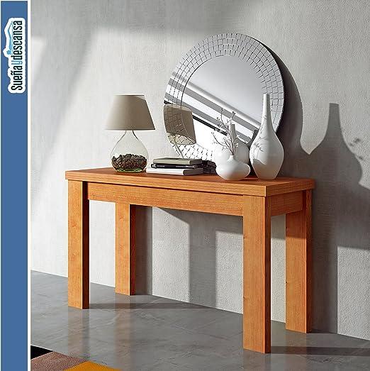 Sueña y Descansa Mesa Consola Cerezo: Amazon.es: Hogar