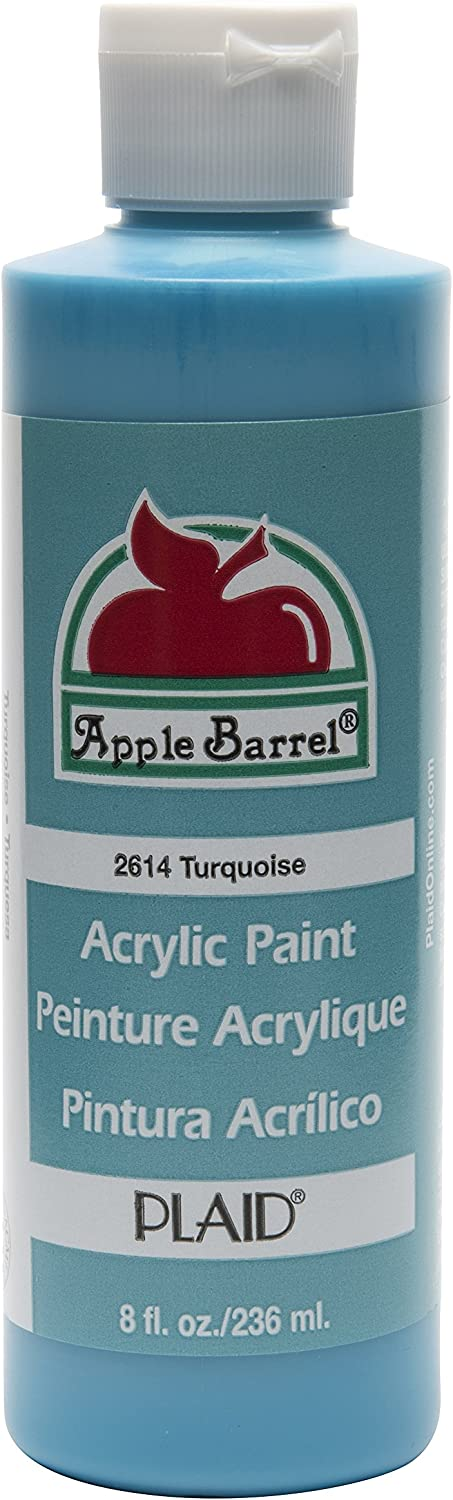 Apple Barrel Acrylic Paint in Assorted Colors (8 oz), K2614 Turquoise