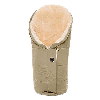Saco cubrepiernas universal de piel de cordero (curtido medicinal) para invierno de CHRIST –